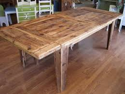harvest table with rustic look home design by john