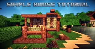 minecraft simple house tutorial youtube
