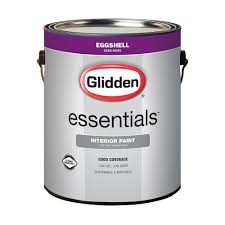 Home Depot 5 Gallon Interior Paint by Glidden Essentials 1 Gal Base 1 Flat Interior Paint Gle 1011 01