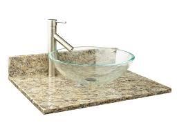 granite countertops narrow depth granite vessel sink vanity top