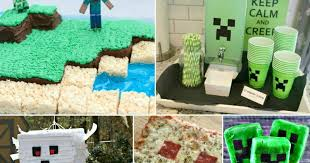 minecraft party the most amazing minecraft party ideas crafts food decor