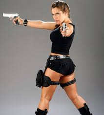 Lara Croft Tomb Raider Halloween Costume Mickie James Won Divas Halloween Costume Contest Lara Croft