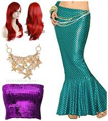 martini mermaid mermaid halloween costume u0026 colorful mermaid wigs martinis u0026 bikinis