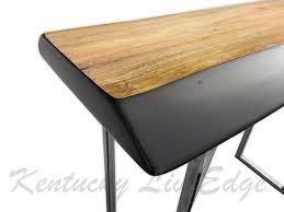 Tall Sofa Table by Live Edge Sofa Table Console Table Foyer Table Modern