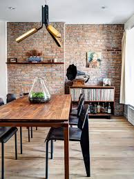 home design elements reviews renovated 1890s home with brick walls by gradient design
