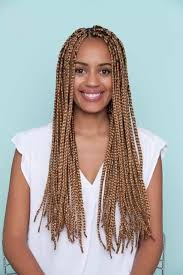 cornrows hairstyle with part in the middle long box braids 18 hairstyles to upgrade your box braids