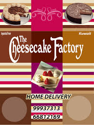 cheesecake delivery the cheesecake factory kuwait paper dump