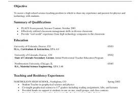 Early Childhood Resume Examples by Best Early Childhood Teacher Resume Reentrycorps