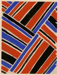 tissus motif paris accrochage tissus simultanés de sonia delaunay dessins en