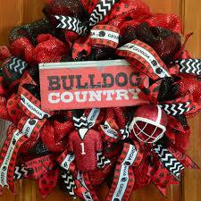 Georgia Bulldog Home Decor by 12x5 Collegiate Tin Sign Georgia Bulldog Country 393476