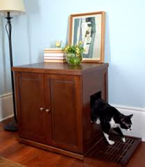 litter box end table cat litter box furniture from the refined feline