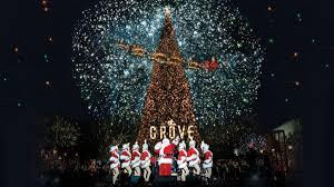 mondo show the grove tree lighting nbc southern california