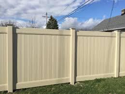 vinyl fence gallery fence company cedar mountain fence