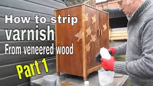 how to refinish wood veneer kitchen cabinets varnish from wood veneer furniture to restore to original condition