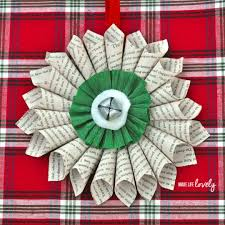 paper christmas decorations simple christmas decorations paper medallion