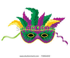mardi mask mardi gras mask stock vector 71894632