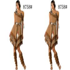 Womens Pocahontas Halloween Costumes Popular Women Pocahontas Costumes Buy Cheap Women Pocahontas