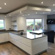 Kitchen Soffit Lighting Drop Ceiling Kitchens Dp Interiors Of Lancashire