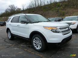 Ford Explorer Xlt 2015 - 2015 oxford white ford explorer xlt 4wd 103361966 gtcarlot com