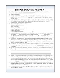 10 best images of simple loan agreement simple loan agreement