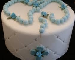 rosary cake topper etsy