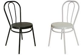 chaise m tallique chaise métallique mod bistrot fabriquée francisco segarra