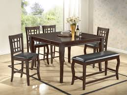 betty 6 pcs counter height dining set with extension and lazy