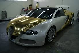 bugatti veyron grand sport bugatti veyron grand sport vitesse black and gold chrome foilacar