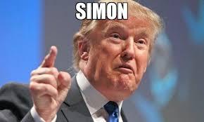 Simon Meme - simon meme donald trump 66393 memeshappen