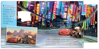 cars 2 carryalong play book 9780794423230 in01