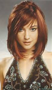 feathered mid length hairstyles pictures on feathered bob hairstyles medium length hair cute