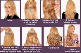 hair clip rambut cara pasang hairclip hairclip