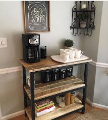kitchen coffee bar ideas make your own coffee bar this weekend diy projects for your home
