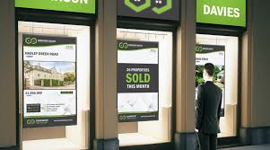 estate agent digital signage advanced yet easy to use 444