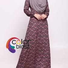 jubah moden jubah moden m color blast boutique fesyen muslimah undefined di