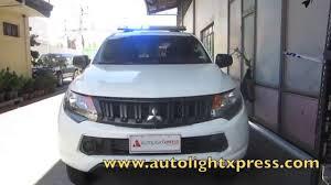 mitsubishi strada 2016 mitsubishi strada 2016 police patrol vehicle youtube