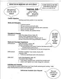 Example Of Profile On Resume by Sample Resume For Scholarship Free Resume Example And Writing