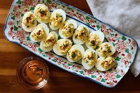 devilled egg platter the secret ingredients to a healthy deviled egg makeover self