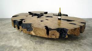 bernhardt petrified wood side table top popular petrified wood table household ideas nesting tables