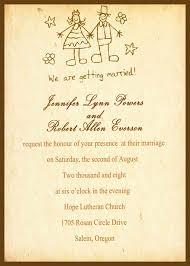 Wedding Invite Verbiage Wedding Invite Wording Funny Invitation Ideas
