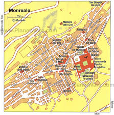 Palermo Italy Map by Exploring Monreale Cathedral A Visitor U0027s Guide Planetware