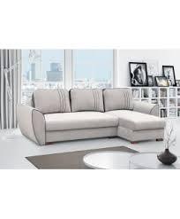 canapé convertible blanc et gris canapé angle convertible lavable grant gris clair