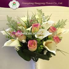 Polyester Flowers - hand craft flowers hand craft flowers suppliers and manufacturers