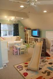 how to decorate a small attic playroom convert loft diy playroom