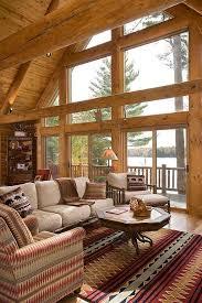 Log Home Decorating Log Home Living Rooms U2013 Modern House