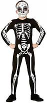 Skeleton Jumpsuit Skeleton Jumpsuit Kids Costume All Halloween Mega Fancy Dress