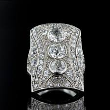 art deco crystal ring holder images Art deco era jewelry aju jpg