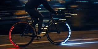 these futuristic bike lights are one of the best ways to ride