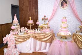 pink and gold cake table decor kara s party ideas gold pink royal princess birthday party