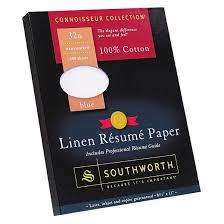 southworth cotton linen resume paper blue target